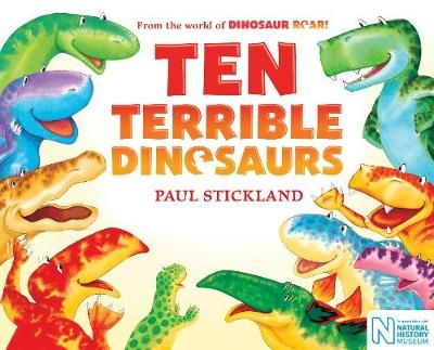 Ten Terrible Dinosaurs Badger Learning