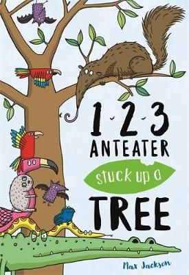 123, Anteater Stuck Up A Tree Badger Learning