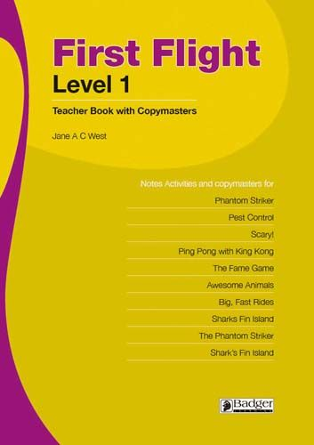 First Flight Level 1 Teacher Book + CD Badger Learning