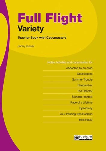 Full Flight Variety Teacher Book + CD Badger Learning