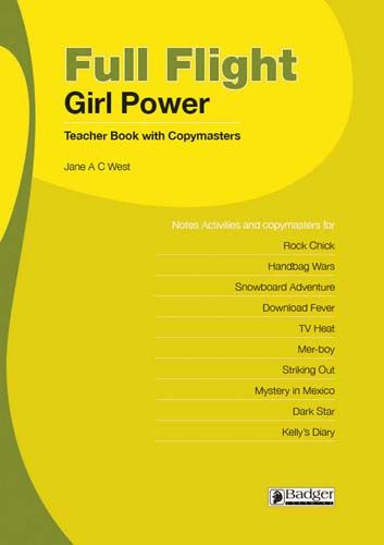 Full Flight Girl Power Teacher Book + CD Badger Learning