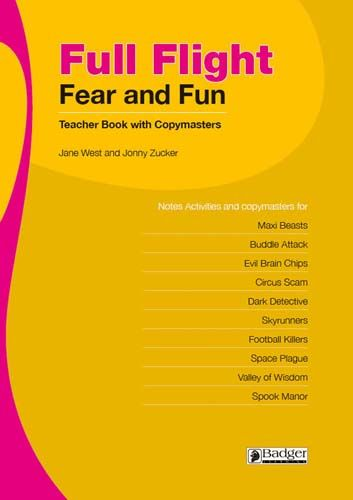 Full Flight Fear and Fun Teacher Book + CD Badger Learning