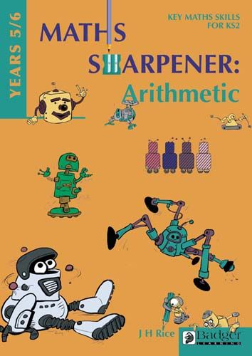 Maths Sharpener: Arithmetic Teacher Book and CD Years 5/6 Badger Learning