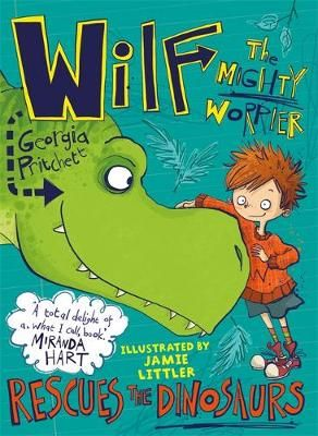 Wilf the Mighty Worrier Rescues the Dinosaurs: Book 5 Badger Learning