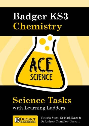 ACE Science: Science Task with Learning Ladders: Chemistry Teacher Book + CD Badger Learning
