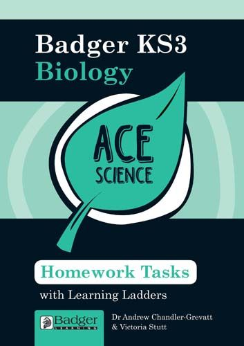 ACE Science: Homework Activities with Learning Ladders: Biology Teacher Book + CD Badger Learning