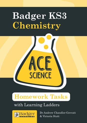 ACE Science: Homework Activities with Learning Ladders: Chemistry Teacher Book + CD Badger Learning