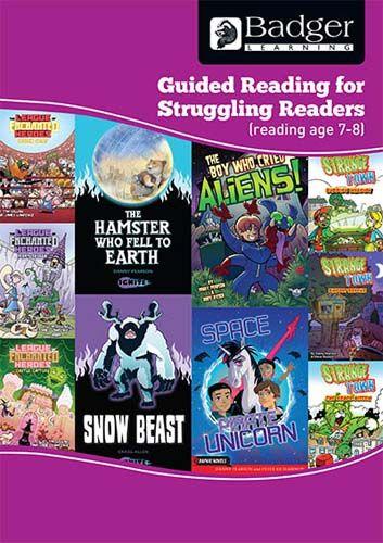 Enjoy Guided Reading For Struggling Readers: RA 7-8 Teacher Book Badger Learning