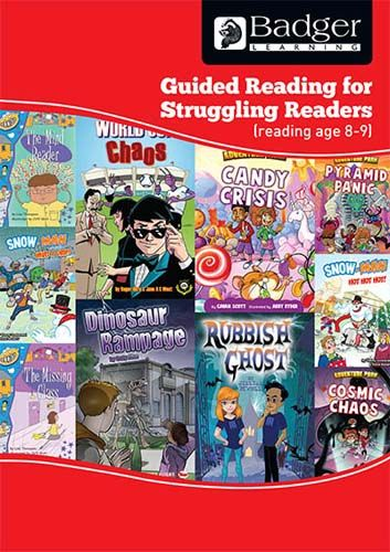 Enjoy Guided Reading For Struggling Readers: RA 8-9 Teacher Book + CD Badger Learning
