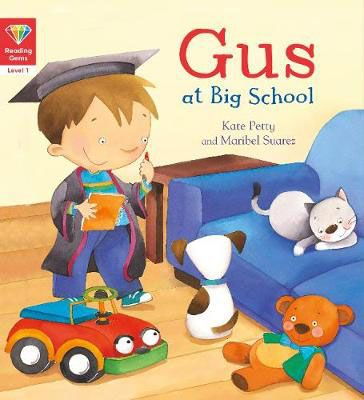 Gus at Big School Badger Learning