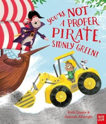 You're Not a Proper Pirate, Sidney Green Badger Learning
