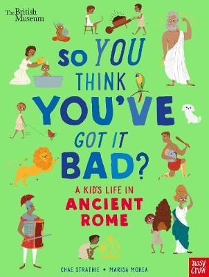 Kid's Life in Ancient Rome Badger Learning