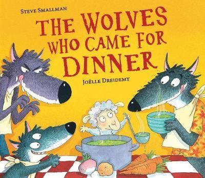 Wolves Who Came For Dinner Badger Learning