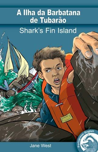 Shark's Fin Island (English/Portuguese Edition) Badger Learning
