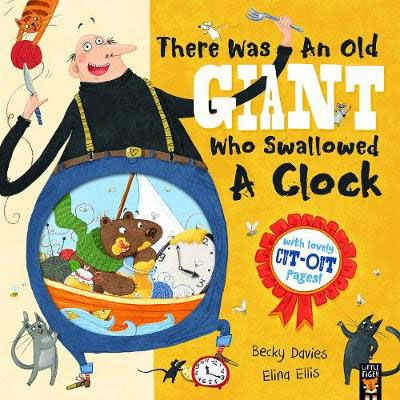 There Was an Old Giant Who Swallowed a Clock Badger Learning