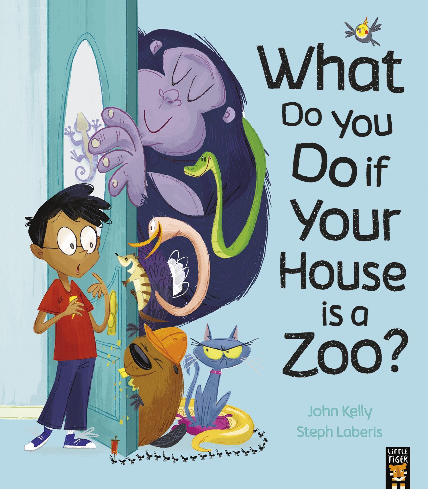 What Do You Do if Your House is a Zoo? Badger Learning
