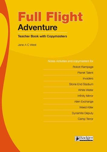 Full Flight Adventure Teacher Book and CD Badger Learning