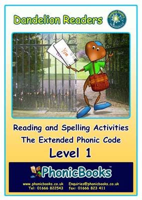 Dandelion Readers: Reading and Spelling Activities Level 1 Badger Learning