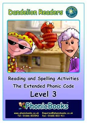 Dandelion Readers: Reading and Spelling Activities Level 3 Badger Learning