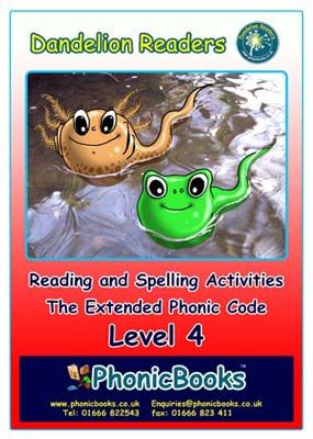 Dandelion Readers: Reading and Spelling Activities Level 4 Badger Learning