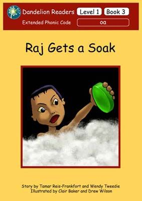 Raj Gets a Soak Badger Learning