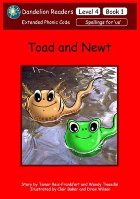 Toad and Newt Badger Learning