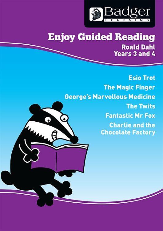 Enjoy Guided Reading Roald Dahl Teacher Book & CD Badger Learning