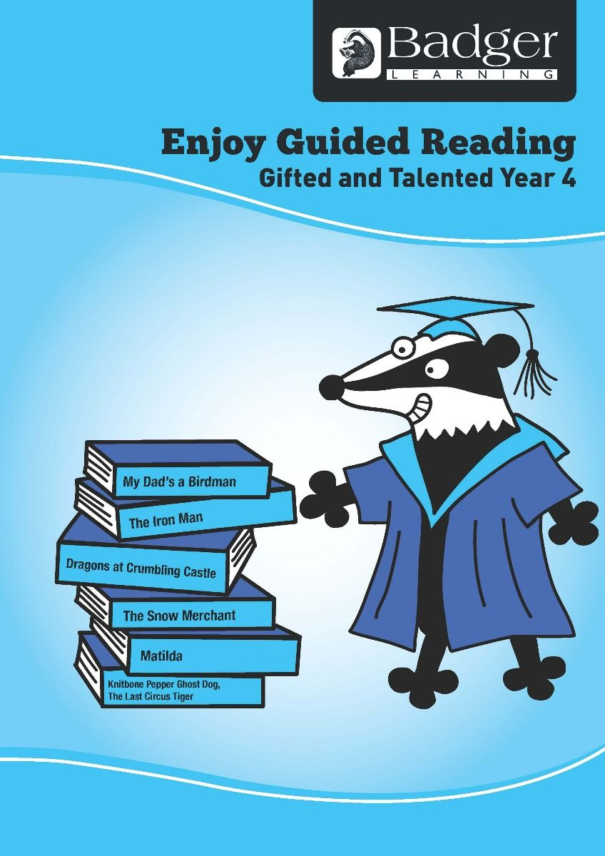 Enjoy Guided Reading Gifted & Talented Year 4 Teacher Book & CD Badger Learning