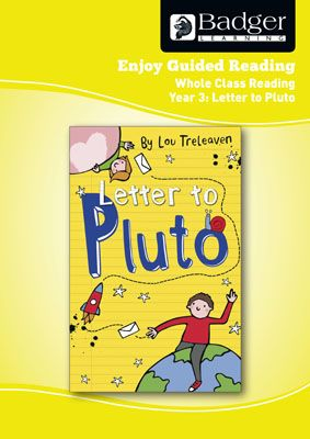 Enjoy Whole Class Guided Reading: Letter to Pluto Teacher Book Badger Learning