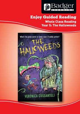 Enjoy Whole Class Guided Reading: The Halloweeds Teacher Book Badger Learning