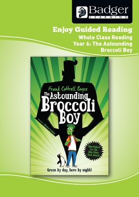 Enjoy Whole Class Guided Reading: The Astounding Broccoli Boy Teacher Book Badger Learning