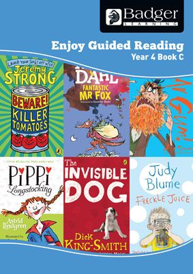 Enjoy Guided Reading Year 4 Book C Teacher Book & CD Badger Learning