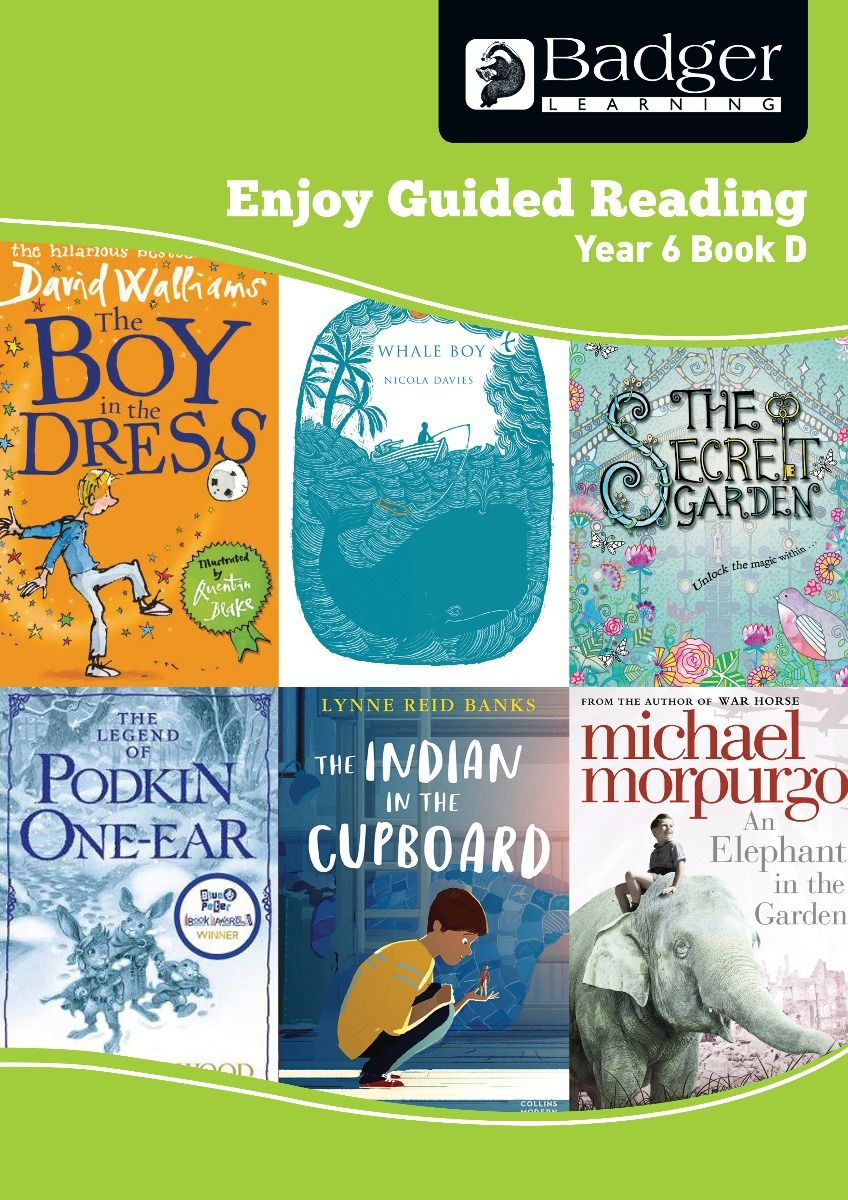 Enjoy Guided Reading Year 6 Book D Teacher Book & CD Badger Learning