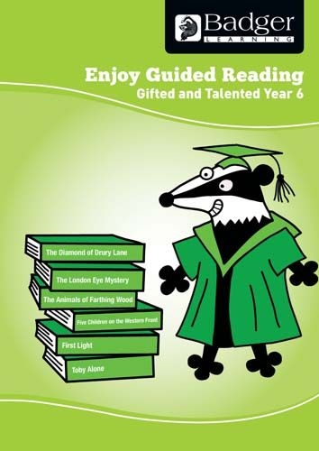Enjoy Guided Reading Gifted & Talented Year 6 Teacher Book & CD Badger Learning