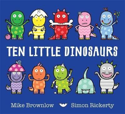 Ten Little Dinosaurs Badger Learning