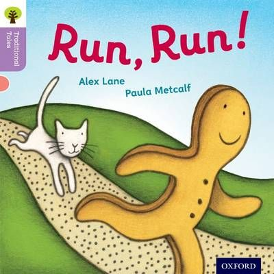 Oxford Reading Tree Traditional Tales: Level 1+: Run, Run! Badger Learning