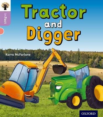 Tractor and Digger Badger Learning