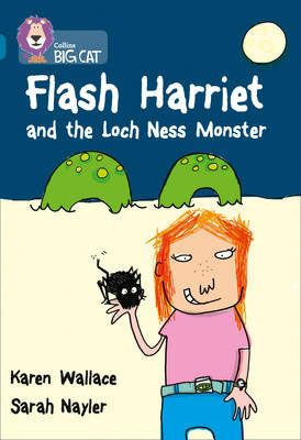 Flash Harriet and the Loch Ness Monster Badger Learning