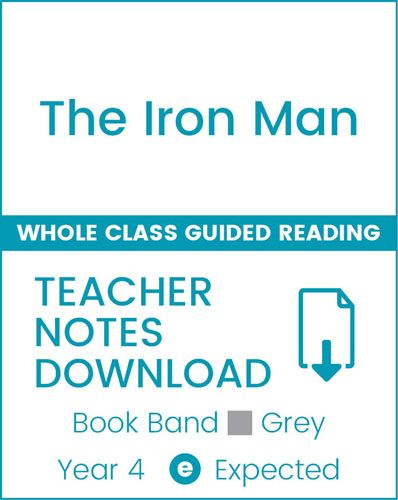 Enjoy Whole Class Guided Reading: The Iron Man Teacher Notes Badger Learning