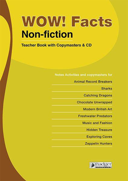 WOW! Facts (B) Teacher Book + CD Badger Learning