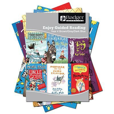 Enjoy Guided Reading KS2 Book Bands: Year 4 Brown, Grey & Dark Blue Complete Pack