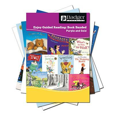 Enjoy Guided Reading Book Band - Purple and Gold Complete Pack
