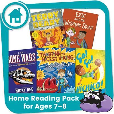 Home Reading Pack for Year 3 — Dinosaurs, Dragons & Daring Deeds