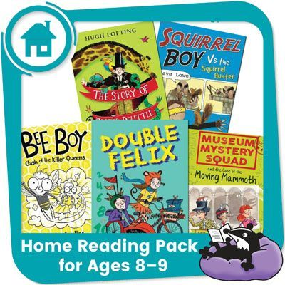Home Reading Pack for Year 4 — Awesome Animals & Captivating Characters