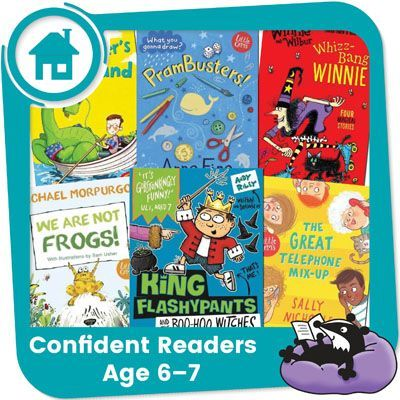 Home Reading Pack for Confident Readers in Year 2