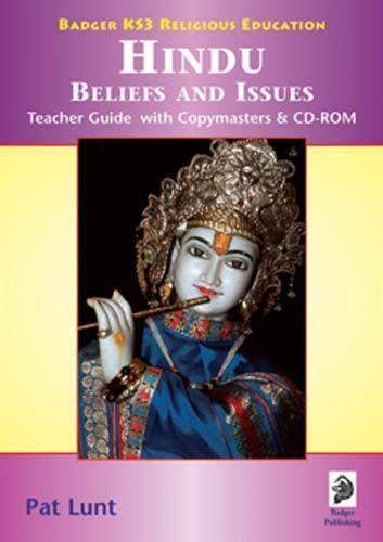 KS3 RE: Hindu Beliefs & Issues Teacher Book + CD