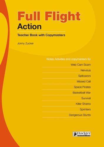 Full Flight Action Teacher Book + CD