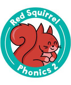 Red Squirrel Phonics Level 2