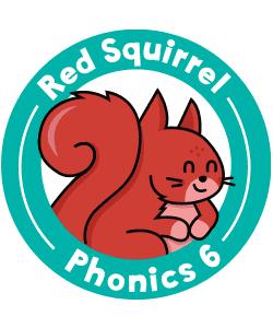 Red Squirrel Phonics Level 6