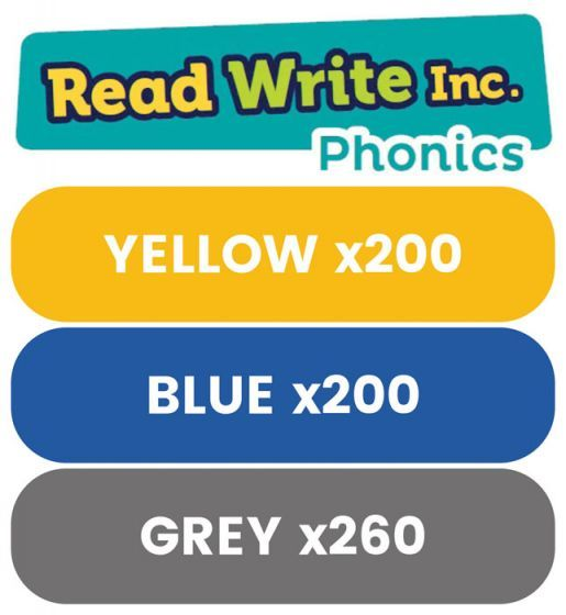 Read Write Inc. Phonics Book Bag Books: Yellow to Grey Pack of 660